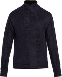 Cottweiler - Cave Merino Wool And Mohair High Neck Sweater - Lyst