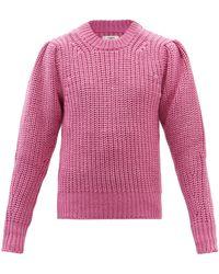 Étoile Isabel Marant プレイン ウールブレンドセーター - ピンク