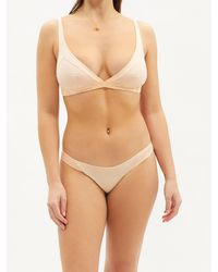 Rossell England Angled Cotton-jersey Briefs - Pink