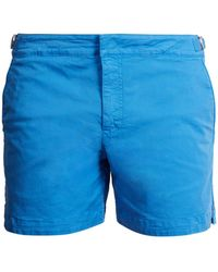 Orlebar Brown - Bulldog Cotton-twill Shorts - Lyst