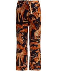 Chufy - Femi Silk Trousers - Lyst