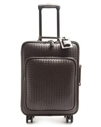 Bottega Veneta - Intrecciato Leather Suitcase - Lyst
