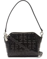 Givenchy Antigona 4g Xs Leather Cross-body Bag - Black