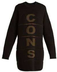 Charli Cohen - Consumed Wool-blend Performance Sweater - Lyst