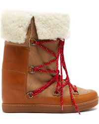 Isabel Marant Nowly Snow Boots - Multicolour
