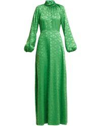 Mary Katrantzou - Robe de soirée en jacquard en satin Belle Mare - Lyst