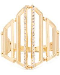 Susan Foster Bague en or jaune et diamants - Multicolore