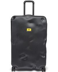 Crash Baggage Stripe 79cm Cuitcase - Black