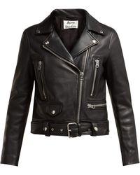Acne Studios - Mock Motorcycle Jacket - Lyst