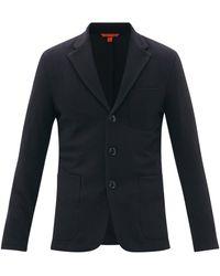 Barena トルチェオ レデ スラブツイル スーツジャケット - ブルー