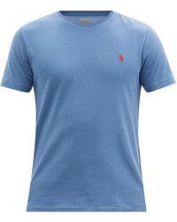Polo Ralph Lauren コットンtシャツ - ブルー