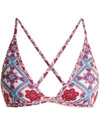 Paolita | Sahara Triangle Bikini Top | Lyst
