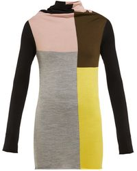 Colville - カラーブロック ウールセーター - Lyst