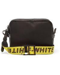 Off-White c/o Virgil Abloh Industrial-strap Technical Cross-body Bag - Black