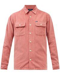 Polo Ralph Lauren コットンコーデュロイシャツ - ピンク