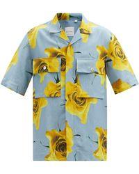Paul Smith モナークローズプリント ツイルシャツ - マルチカラー