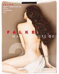Falke Collants Matt Deluxe 20 deniers - Multicolore