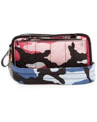 Valentino - Camouflage Print Quilted Cross Body Bag - Lyst