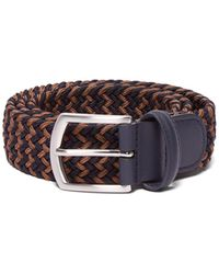 Andersons Woven Elasticated Belt - Multicolour
