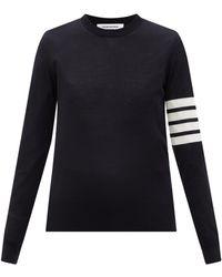 Thom Browne 4bar ウールセーター - マルチカラー