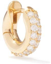Spinelli Kilcollin Diamond & 18kt Gold Single Earring - Metallic