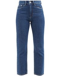 Wandler Carnation Cropped Slim-leg Jeans - Blue