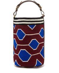 Colville Wayuu Geometric-print Cotton Bag - Multicolour
