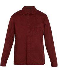 Haider Ackermann - Single-cuff Cotton-blend Shirt - Lyst