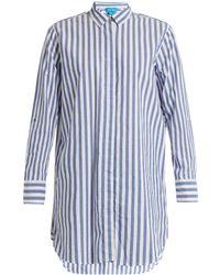 M.i.h Jeans - Striped Cotton Shirt - Lyst