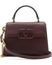 Valentino Garavani V-sling Small Leather Handbag - Multicolor
