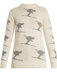 Fusalp - Carving Wool-blend Performance Sweater - Lyst