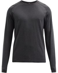 lululemon athletica Metal Vent Tech 2.0 Long-sleeved T-shirt - Black