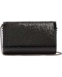 Christian Louboutin - Paloma Sequin-embellished Clutch Bag - Lyst