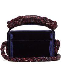 Sanayi 313 - Fiocco Mini Velvet Shoulder Bag - Lyst