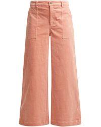 Ganni Ridgewood Pants - Pink