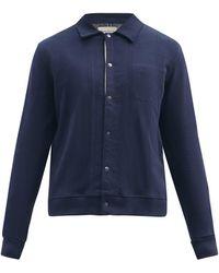 Oliver Spencer ランデル オーガニックコットン ポロシャツ - ブルー