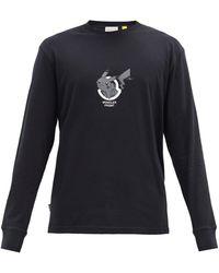 7 MONCLER FRAGMENT コットン ロングスリーブtシャツ - マルチカラー