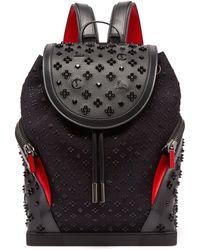 chaussures de sport 00674 9b5c3 Sac à dos en cuir clouté Explorafunk - Noir