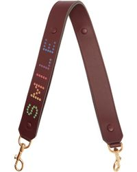 Anya Hindmarch - Smile Leather Bag Strap - Lyst