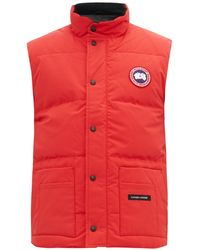 050e40b30478f Men's Canada Goose Waistcoats and gilets On Sale - Lyst