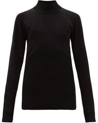 Bottega Veneta タートルネック セーター - ブラック