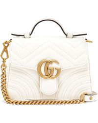 Gucci GG Marmont Small Quilted-leather Cross-body Bag - Multicolour
