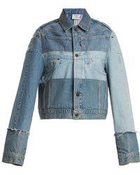 Vetements X Levi's Reworked Denim Jacket - Blue