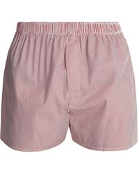 Sunspel - Classic Cotton Boxer Shorts - Lyst