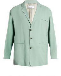 Raey - Soft-tailored Crepe Blazer - Lyst