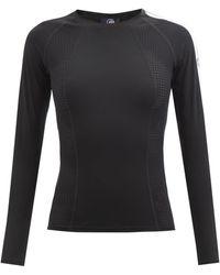 Fusalp Claudia Perforated-jersey Thermal Top - Black