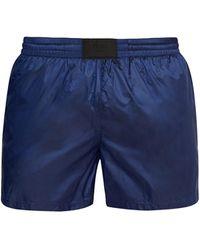 Prada Short de bain indéchirable - Bleu