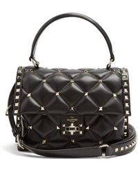 Valentino - Candystud Top Handle Bag - Lyst