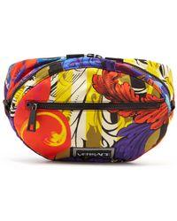 Versace - Printed Belt Bag - Lyst