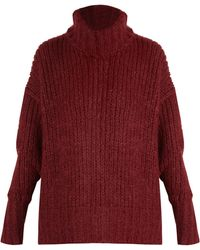 By. Bonnie Young - Roll-neck Cashmere-blend Sweater - Lyst